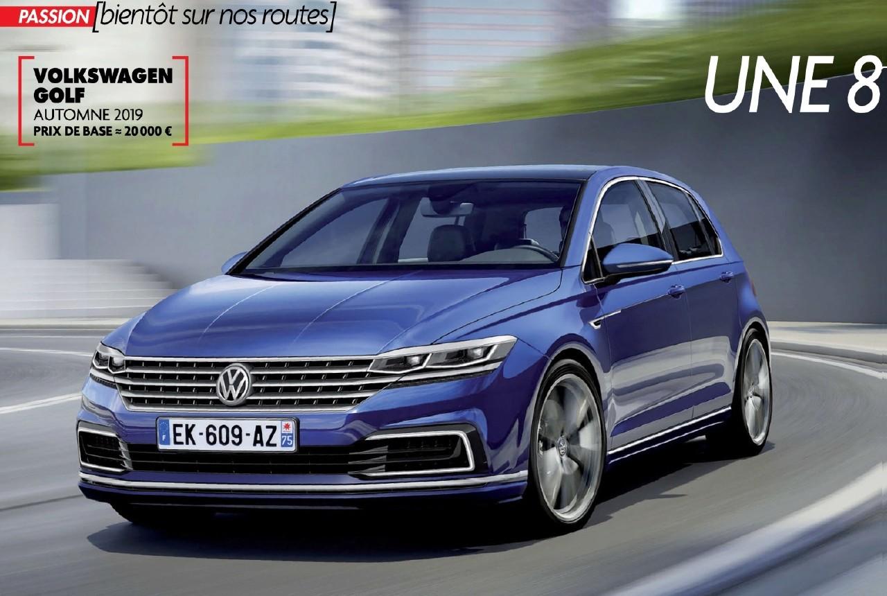 2020 - [Volkswagen] Golf VIII - Page 8 Golf10