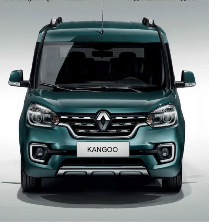 Renault Alaskan 2018 >> 2018 - [Renault] Kangoo III