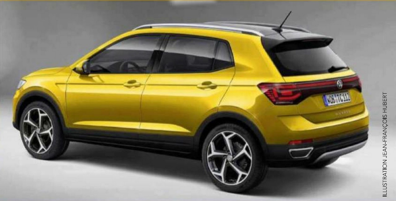 2018 - [Volkswagen] T-Cross - Page 2 Tcross11