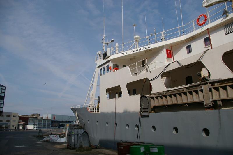 Boulogne sur mer et le POLARFRONT  Imgp6137