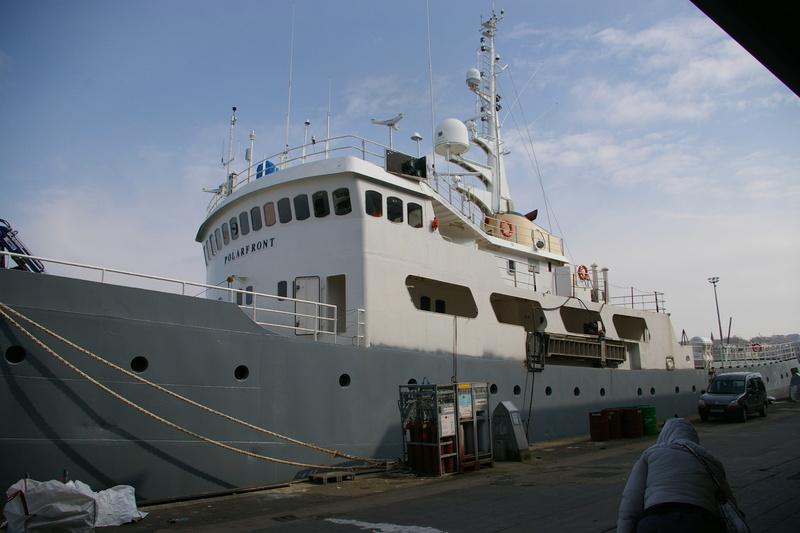 Boulogne sur mer et le POLARFRONT  Imgp6151