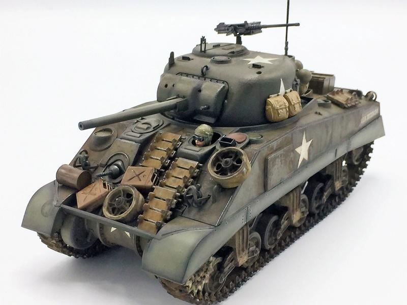 US M4 Sherman - Tamiya - 1/35   Img_e267
