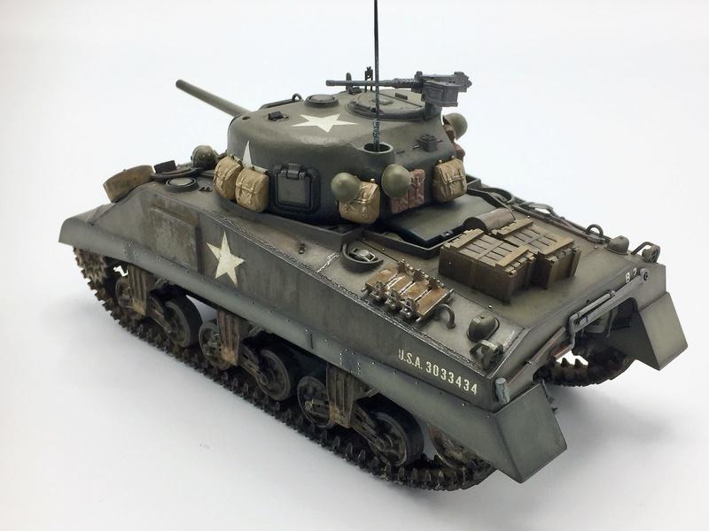 US M4 Sherman - Tamiya - 1/35   Img_e270