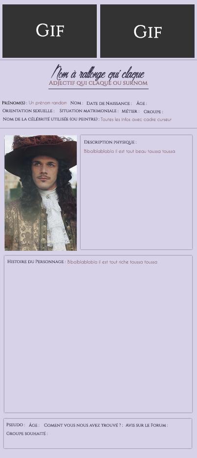[pris en charge par Jamy/Eyota #2]  Un code complet pour un forum de RPG, est-ce possible s'il vous plait ?  Fiched10