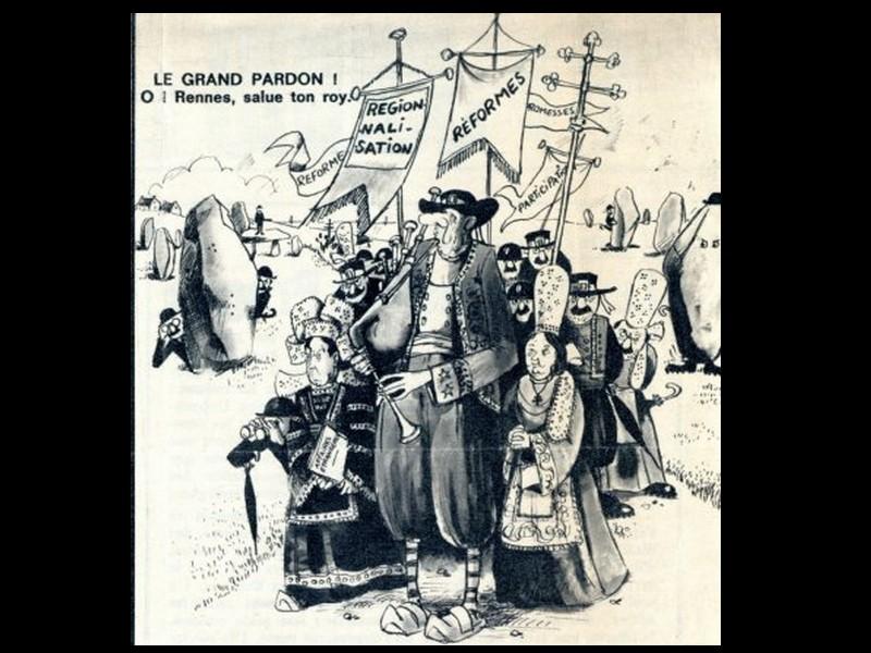 Série Mai 68. 4/De Gaulle visite la Bretagne 1101