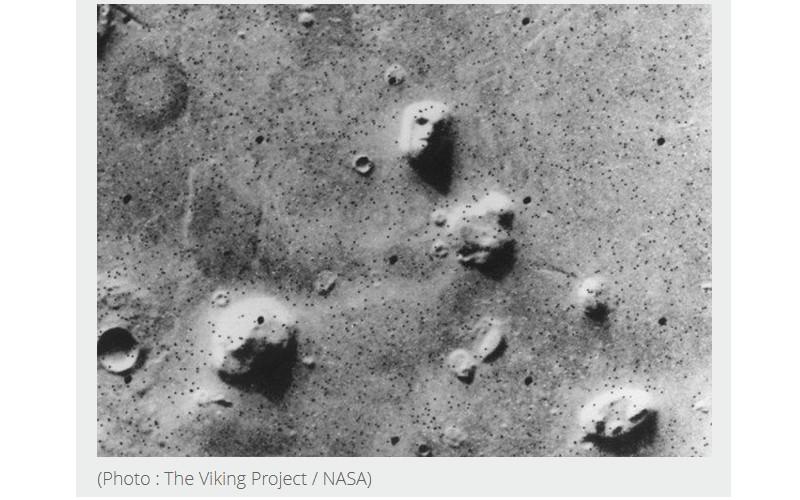 D'où viennent ces visages sur la planète Mars ? 190