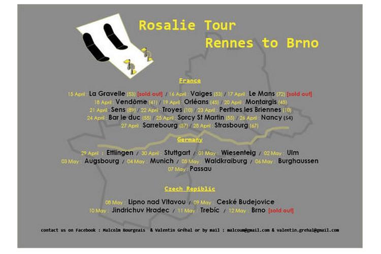 ILS ONT BESOIN DE VOUS       Rosalie Tour 2018  URGENT   Rennes de Brno 515