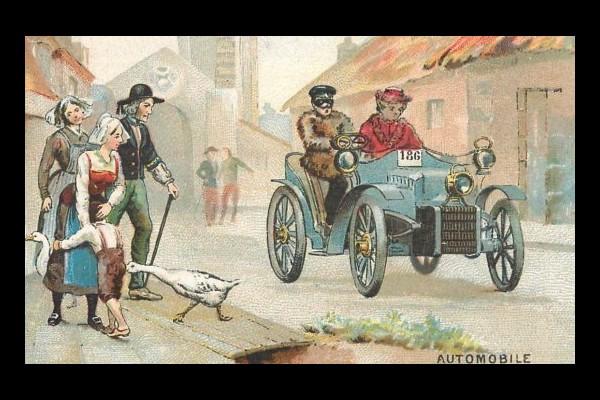 10 mars 1899 : décret réglementant la circulation automobile 52110