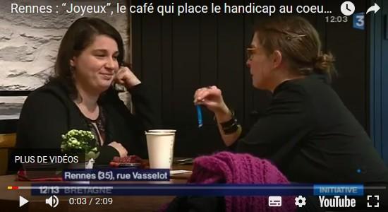 """Rennes : """"Joyeux"""", le café qui place le handicap au coeur de la ville 52213"""