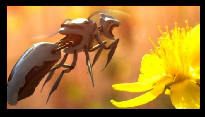 Walmart vient de déposer un brevet pour des abeilles robotisées autonomes 53213