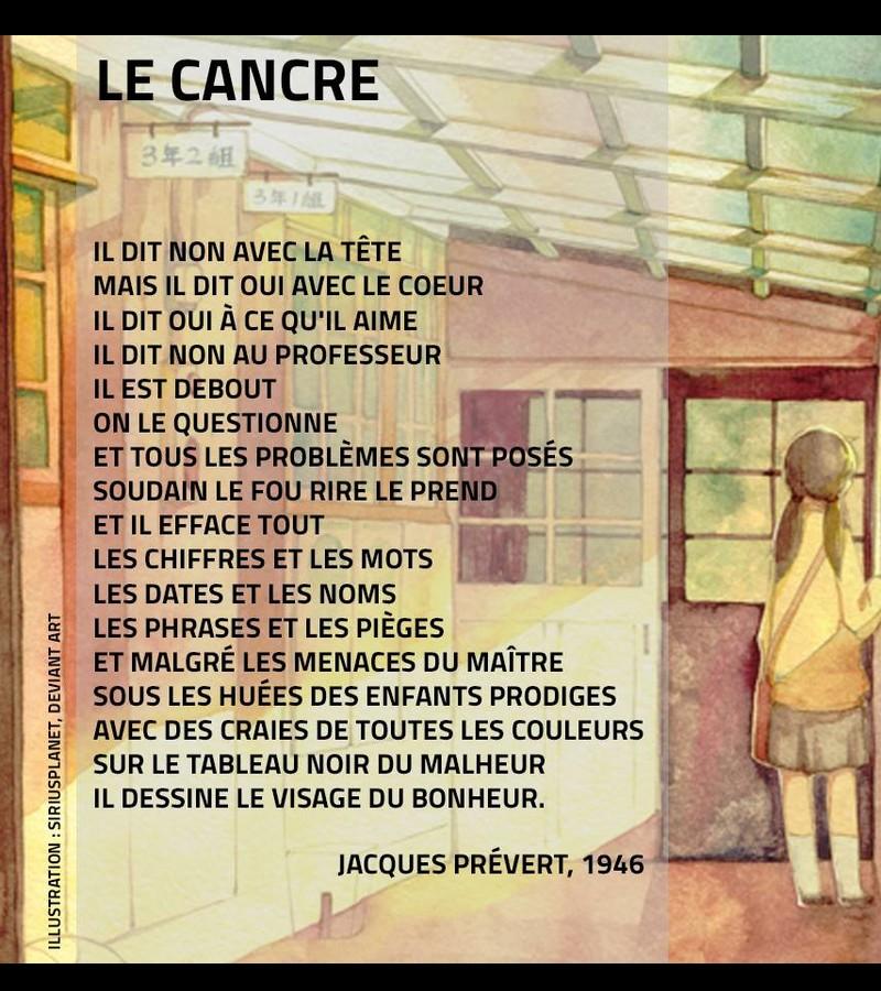 LE CANCRE SELON PREVERT et d'autres... 917
