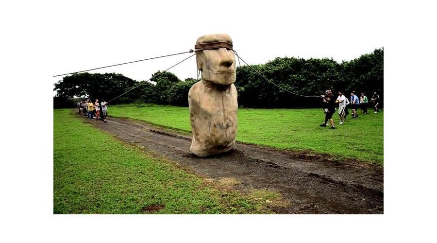Le mystère des géants de l'île de Pâques enfin élucidé A1017