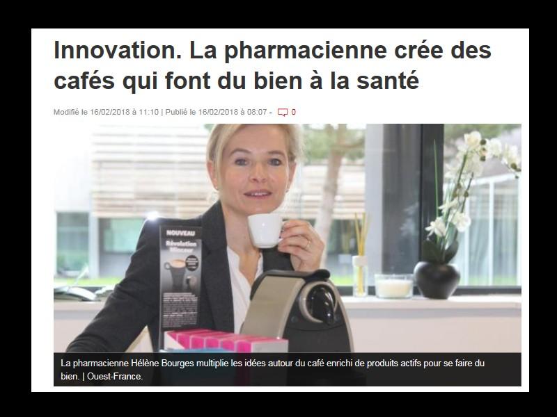 Innovation. La pharmacienne crée des cafés qui font du bien à la santé  B11