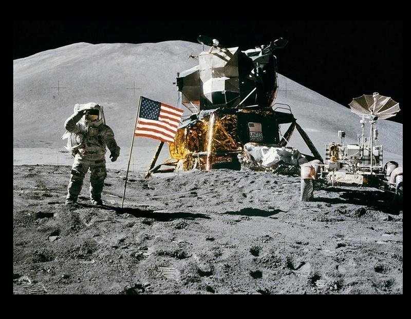 180 tonnes de déchets abandonnés sur la Lune Sans1000