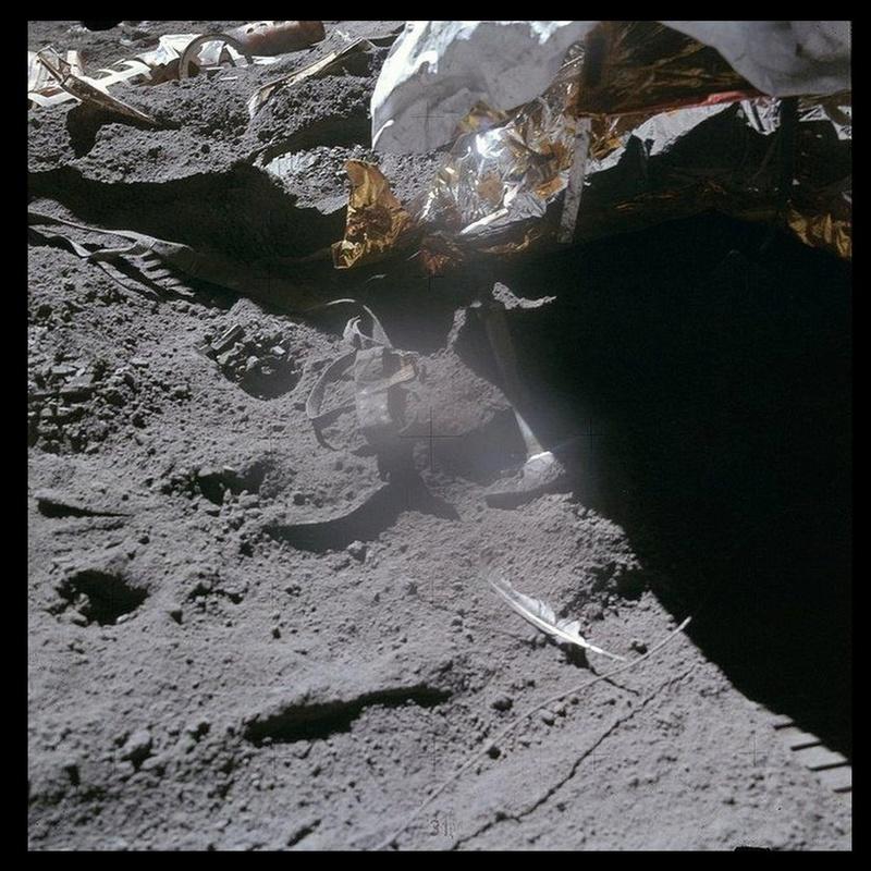 180 tonnes de déchets abandonnés sur la Lune Sans1001
