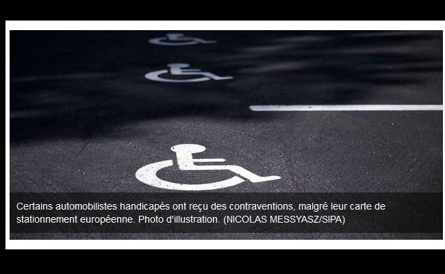 Paris : des automobilistes handicapés verbalisés malgré leur carte de stationnement Sans1032