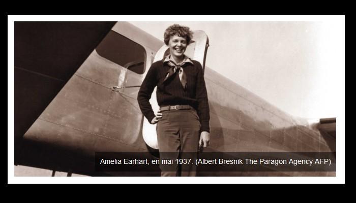 Fin d'un long mystère ? L'aviatrice Amelia Earhart serait bien morte sur une île du Pacifique Sans1039