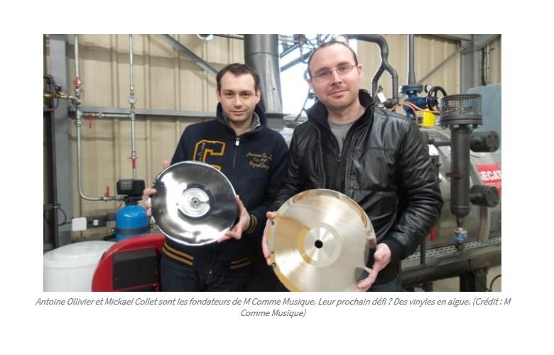En Bretagne, ce fabricant de vinyles écolo rêve d'un 33 tours en algues  Sans1234