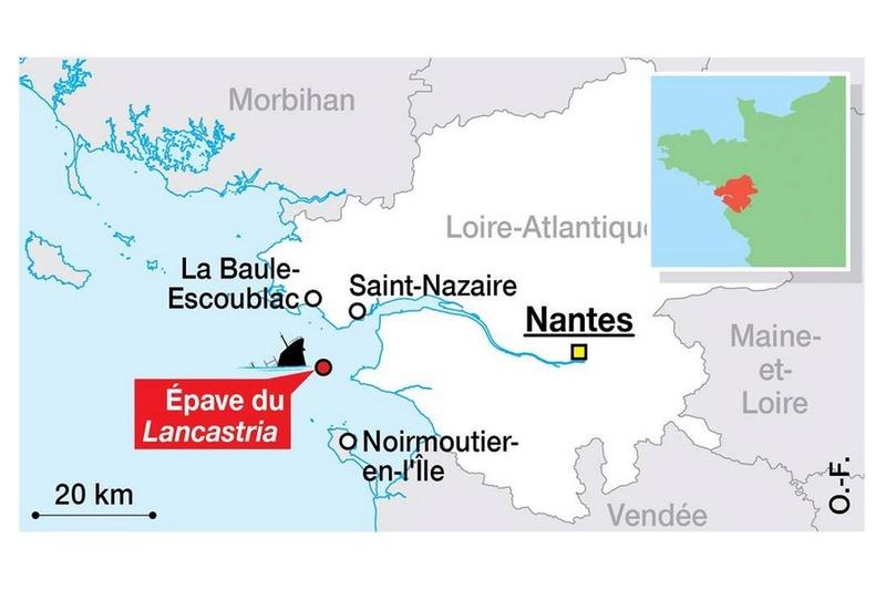 Le 17 juin 1940, des milliers de morts au large de Saint-Nazaire Sans1278