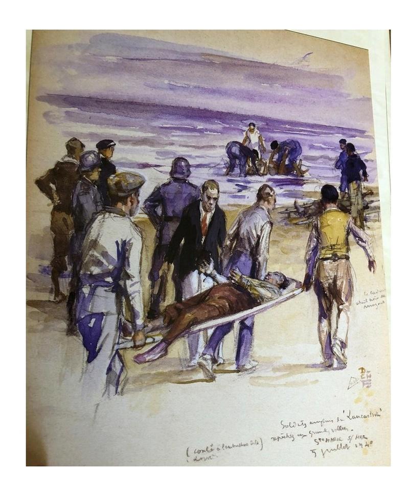 Le 17 juin 1940, des milliers de morts au large de Saint-Nazaire Sans1281