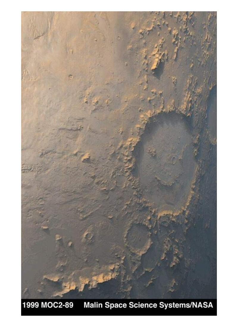D'où viennent ces visages sur la planète Mars ? Sans1410