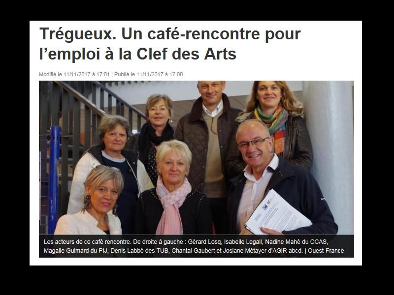 Trégueux. Un café-rencontre pour l'emploi à la Clef des Arts Sans_255