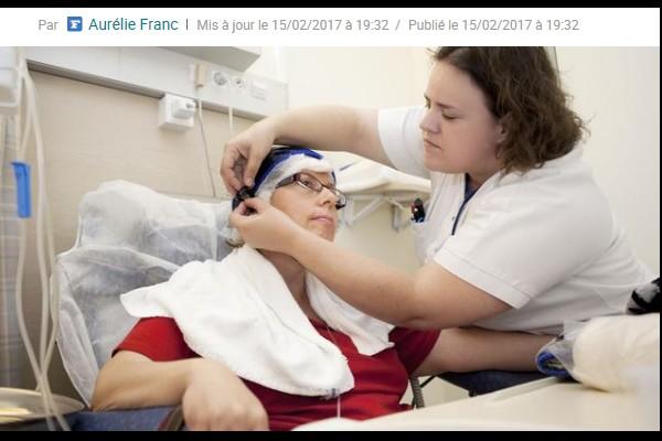 Cancer. À Saint-Brieuc, un casque réfrigérant pour garder ses cheveux Sans_274