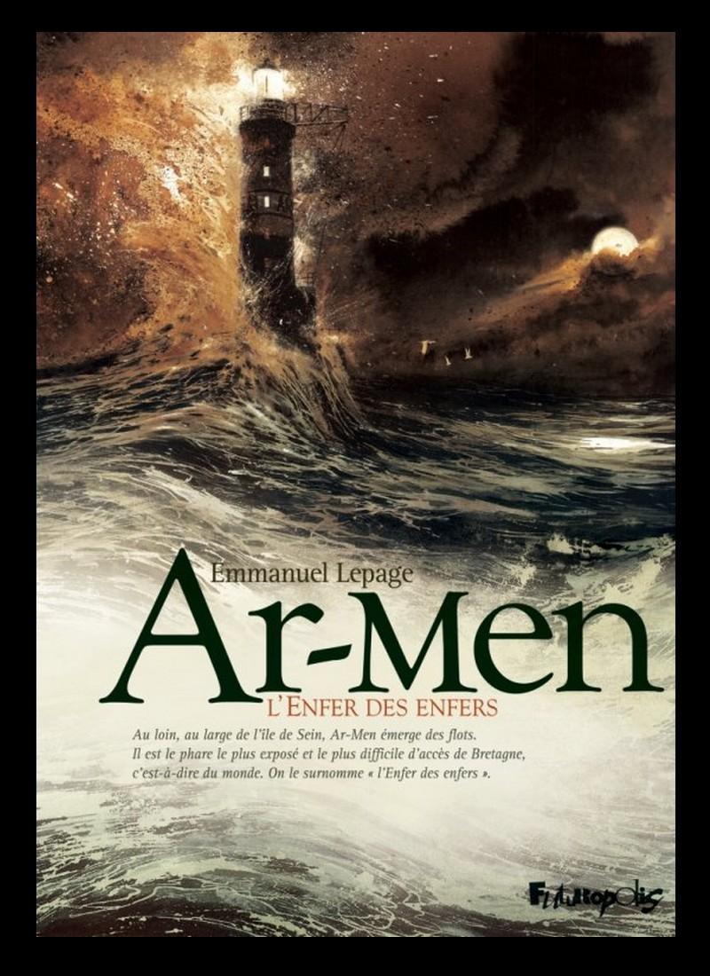 Plourhan ///    Bande dessinée. Emmanuel Lepage raconte l'enfer du phare Ar-Men Sans_347