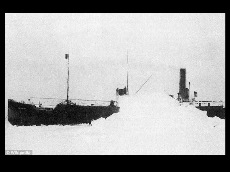 SS Baychimo, le cargo fantôme de l'Arctique Sans_381