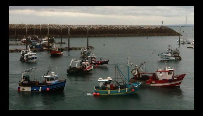 Lutte contre la pêche illégale : la France teste l'usage de drones en baie de Saint-Brieuc Sans_408