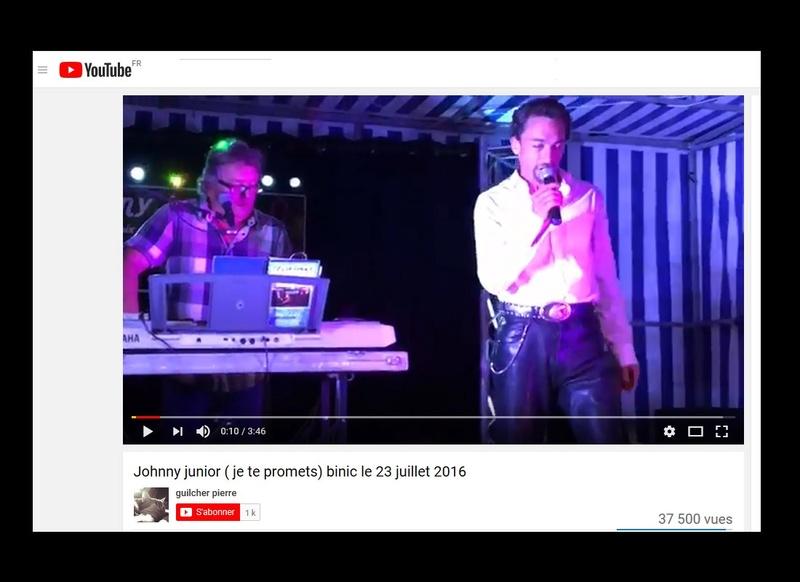 Johnny Junior, ce sosie vocal de Johnny voit sa carrière décoller  Sans_569