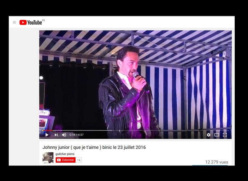 Johnny Junior, ce sosie vocal de Johnny voit sa carrière décoller  Sans_570