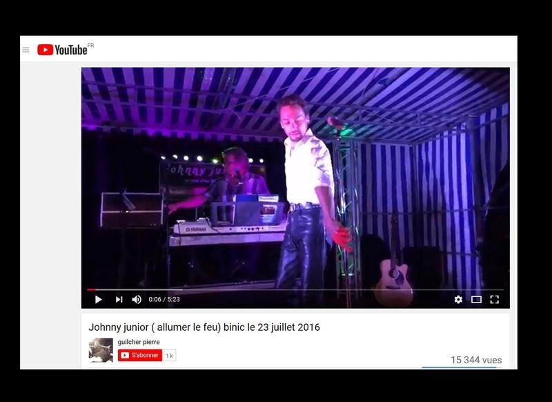 Johnny Junior, ce sosie vocal de Johnny voit sa carrière décoller  Sans_571
