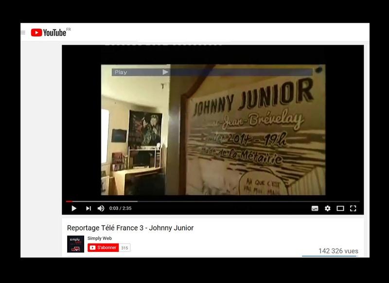 Johnny Junior, ce sosie vocal de Johnny voit sa carrière décoller  Sans_573