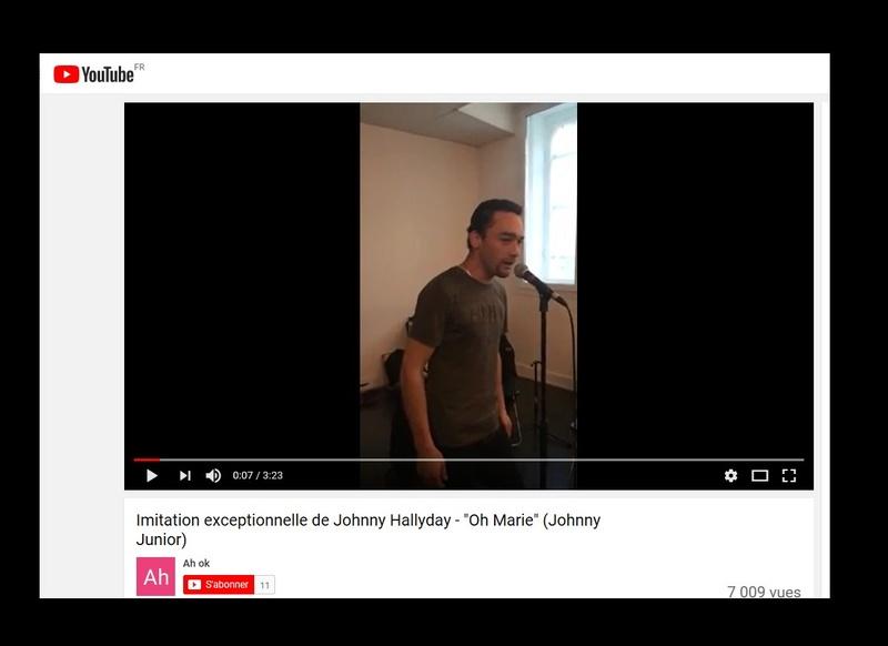 Johnny Junior, ce sosie vocal de Johnny voit sa carrière décoller  Sans_574