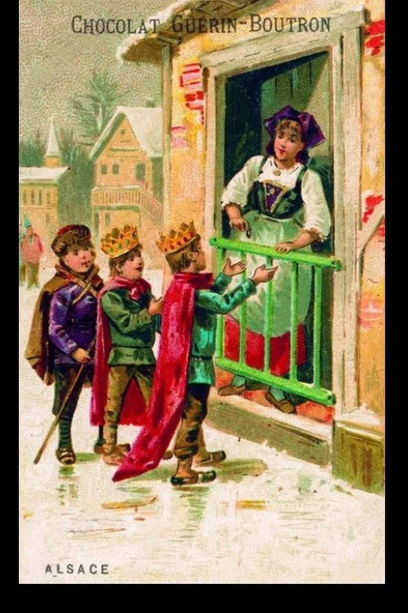 Tradition du jour des Rois  et galette de l'Épiphanie Sans_627