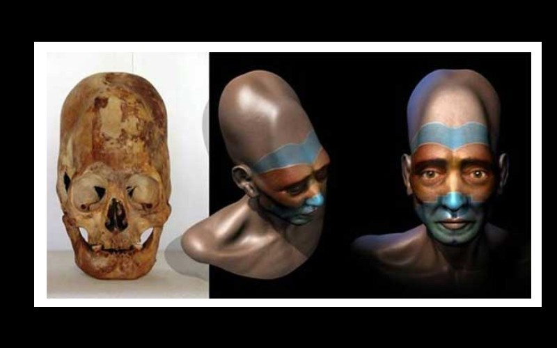 13 crânes allongés « extraterrestres » exhumés au Mexique Sans_677