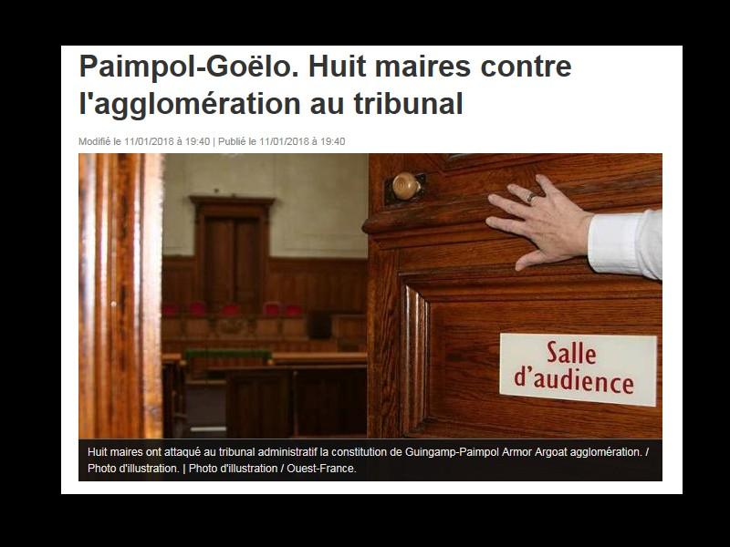 Paimpol-Goëlo. Huit maires contre l'agglomération au tribunal  Sans_693