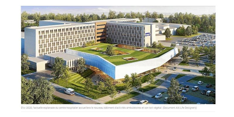 Saint-Brieuc. L'hôpital change de dimension  Sans_726