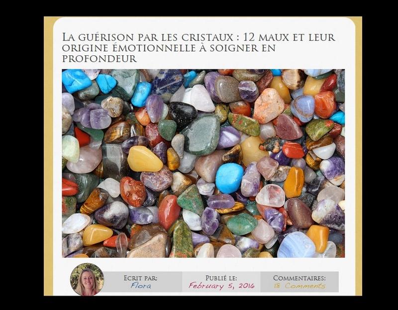 La guérison par les cristaux : 12 maux et leur origine émotionnelle à soigner en profondeur Sans_729