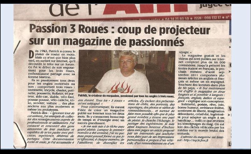 MAGAZINES SUR LE 3 ROUES  2012  PDF BLOQUE ? voir l'autre rubrique merci  Sans_781