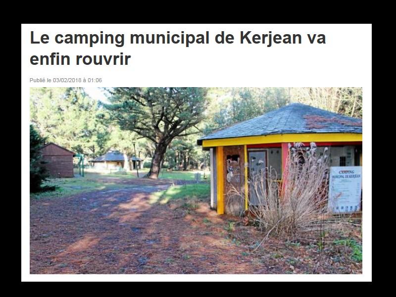 Le camping municipal de Kerjean va enfin rouvrir Sans_842