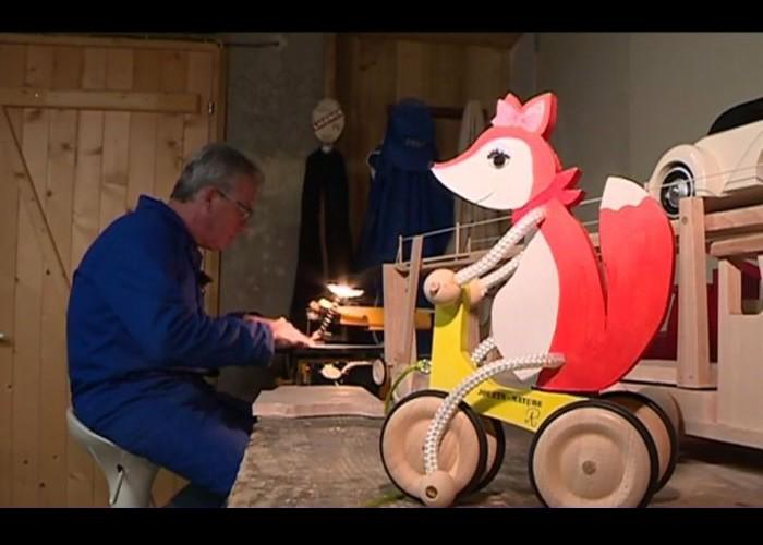 St Geyrac : Le fabricant de jouet artisanal poussé à la fermeture pour une question de normes Sans_923