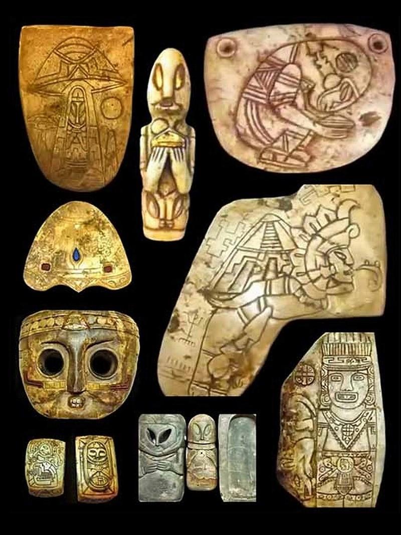 Des artefacts mayas prouvent-ils que des contacts entre extraterrestres et humains se sont bien produits ? Sans_953