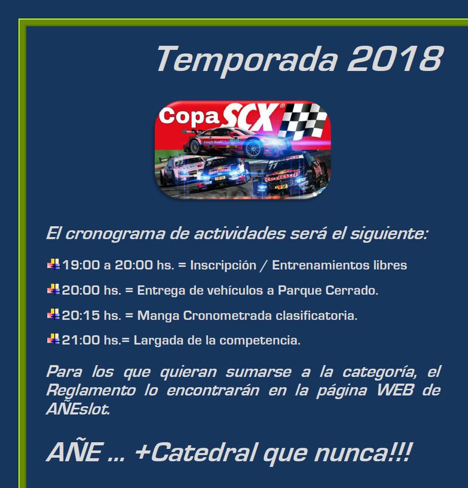COPA SCX ▬ 2° RONDA ▬ V.TÉCNICA ▬▬ CLASIFICACIÓN OFICIAL Copasc10