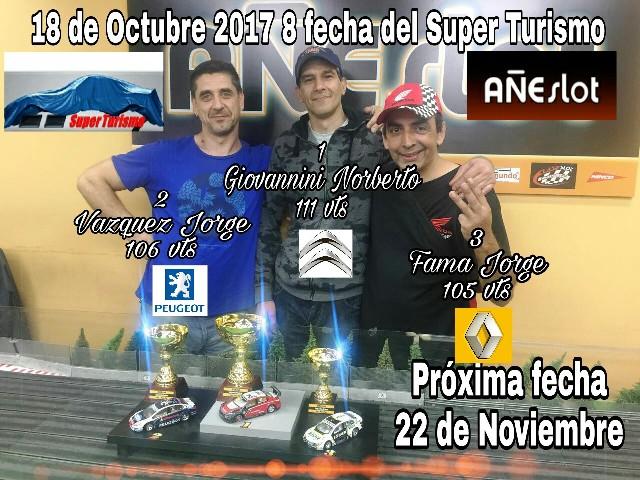 SUPER TURISMO ▬ 8° RONDA ▬ V.TÉCNICA ▬▬ CLASIFICACIÓN OFICIAL Img-2014