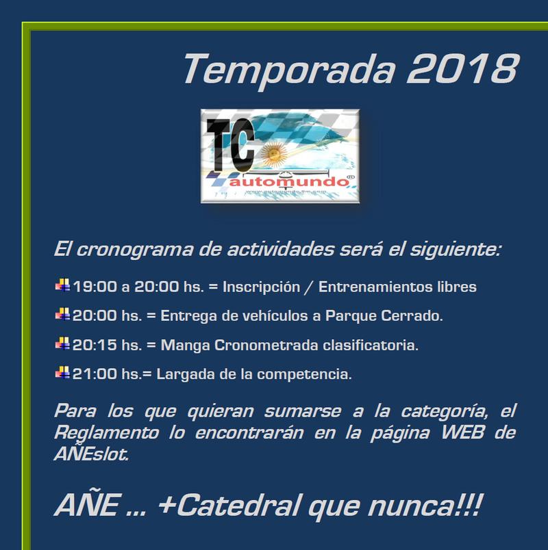TC Automundo ▬ 8° RONDA ▬ V. TÉCNICA ▬▬ CLASIFICACIÓN OFICIAL Tcauto13