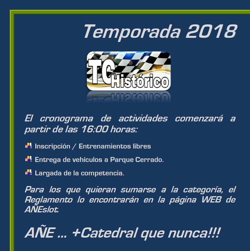 TC HISTÓRICO Eduardo Copello ▬ 2° RONDA ▬ V. TECNICA ▬ CLASIFICACIÓN OFICIAL Tchist12