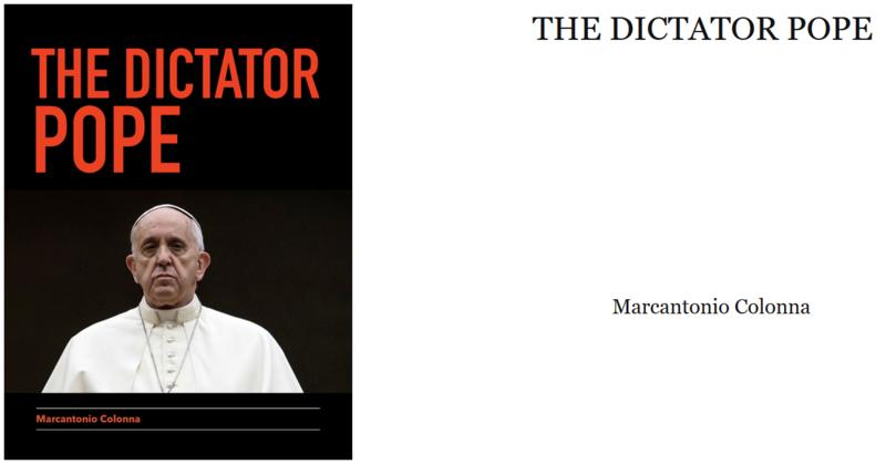 Le PAPE DICTATEUR par Marc-Antoine Colonna Dictat10