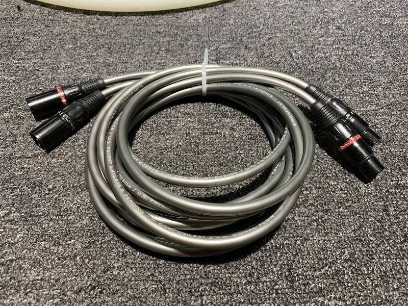 Wireworld Equinox 7 XLR to XLR (2.5M) SOLD Img_0215